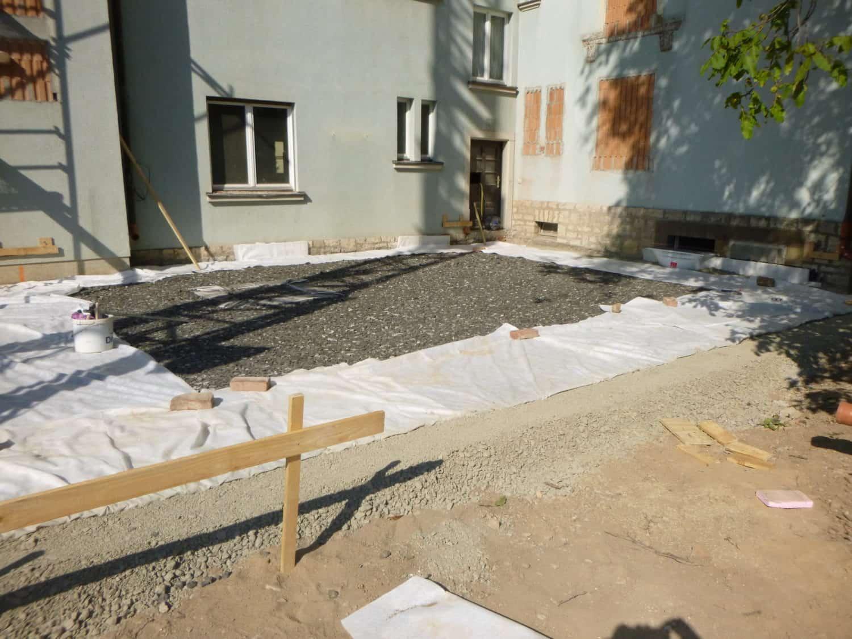 Bodenplatte Anbau Studentenwohnheim DORNBAU
