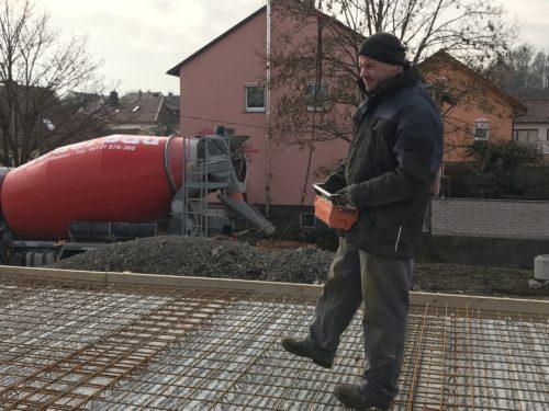 Decke betonieren Seniorenwohnheim Dornröschen Poppenhausen 1