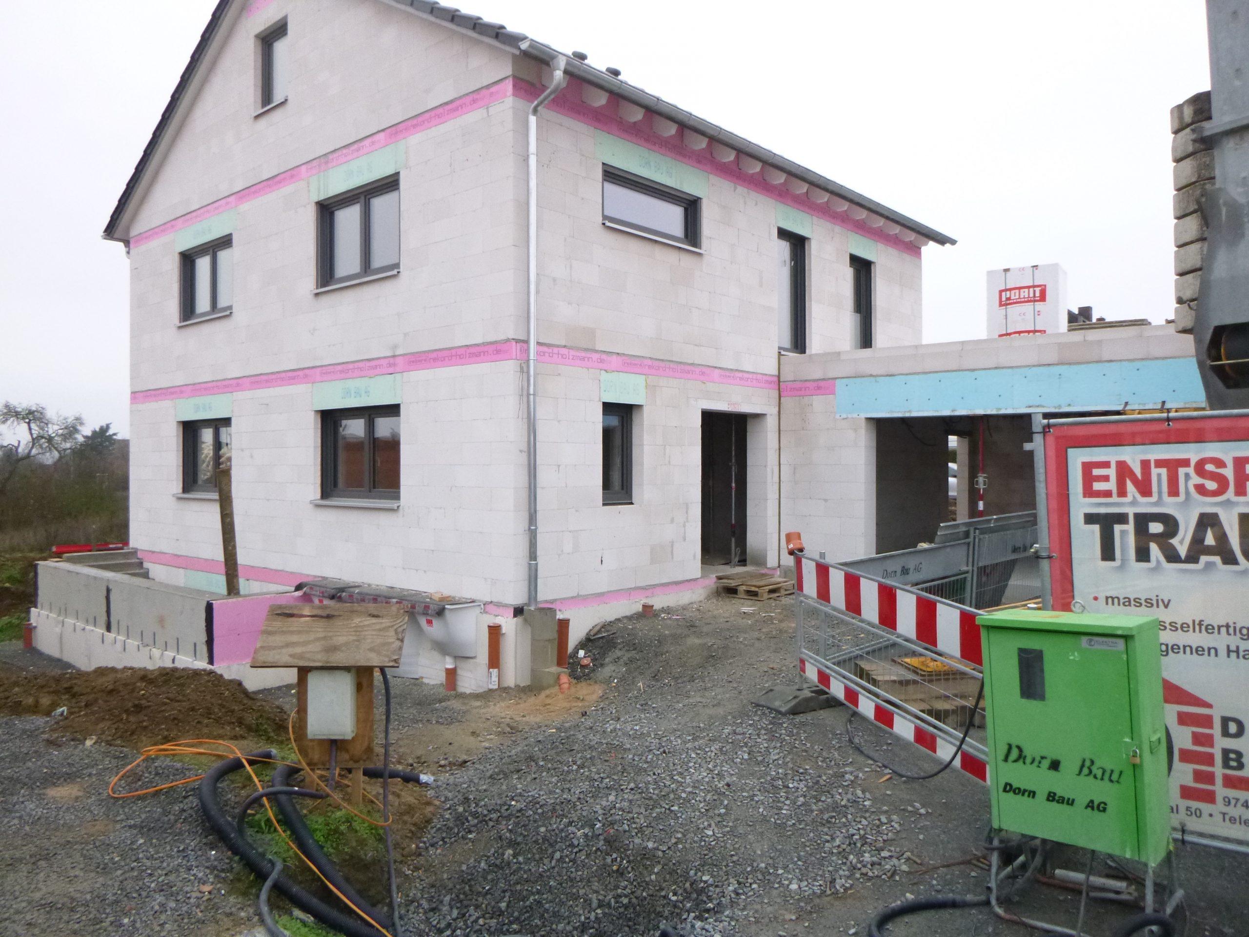 Rohbau - Spitalfeld 35 - Veitshoechheim (2)