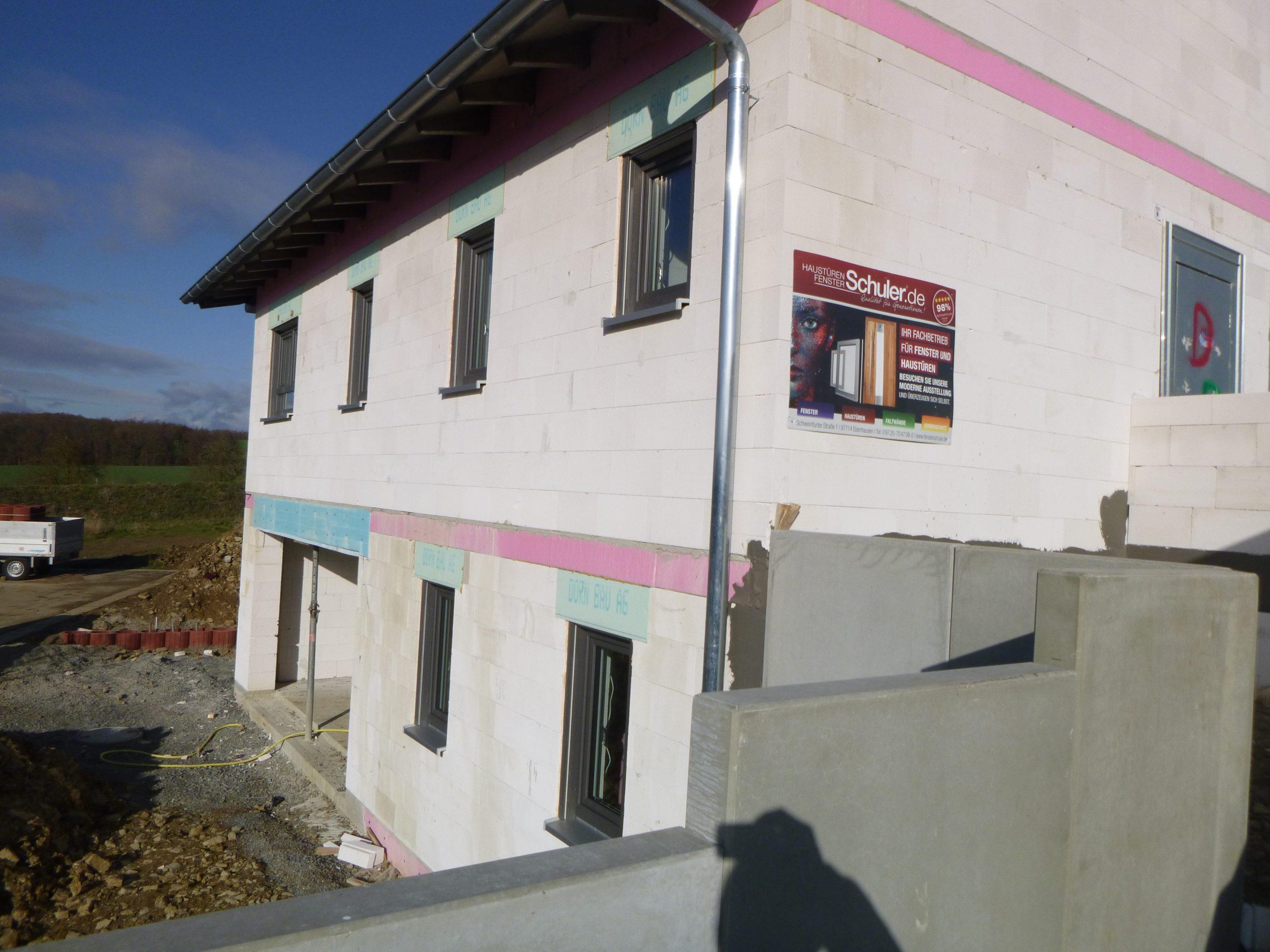 Rohbau - An der Centleite 26 - Massbach (1)