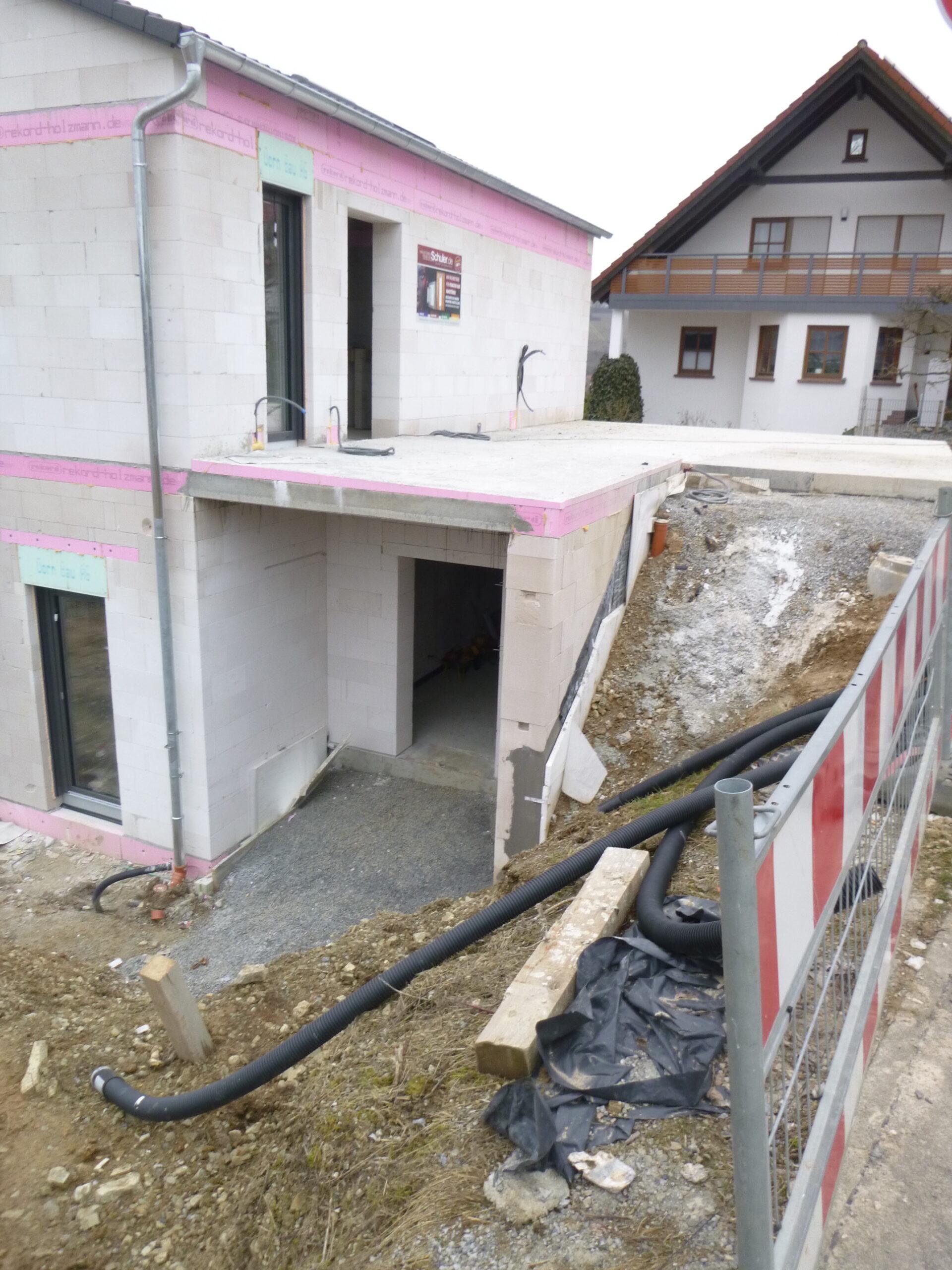 Rohbau - Am Hoenig 7 - Retzstadt (1)