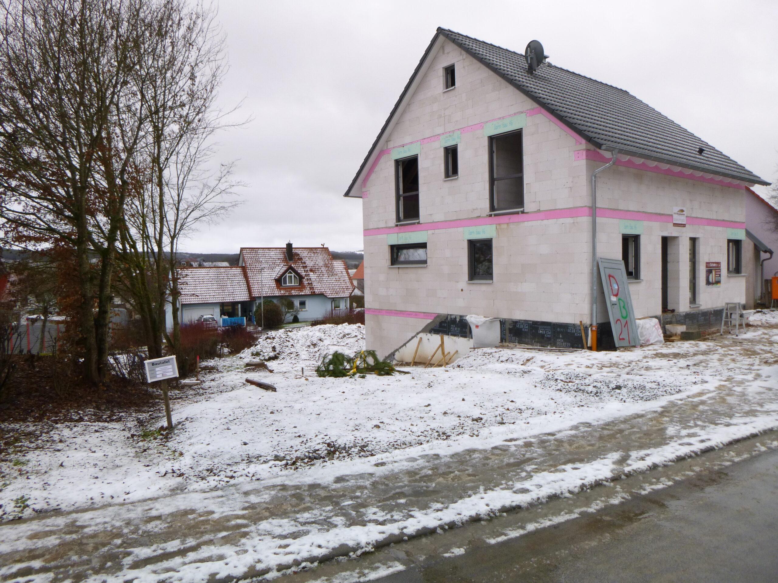 Rohbau - Waldstr. 13 - Himmelstadt (3)