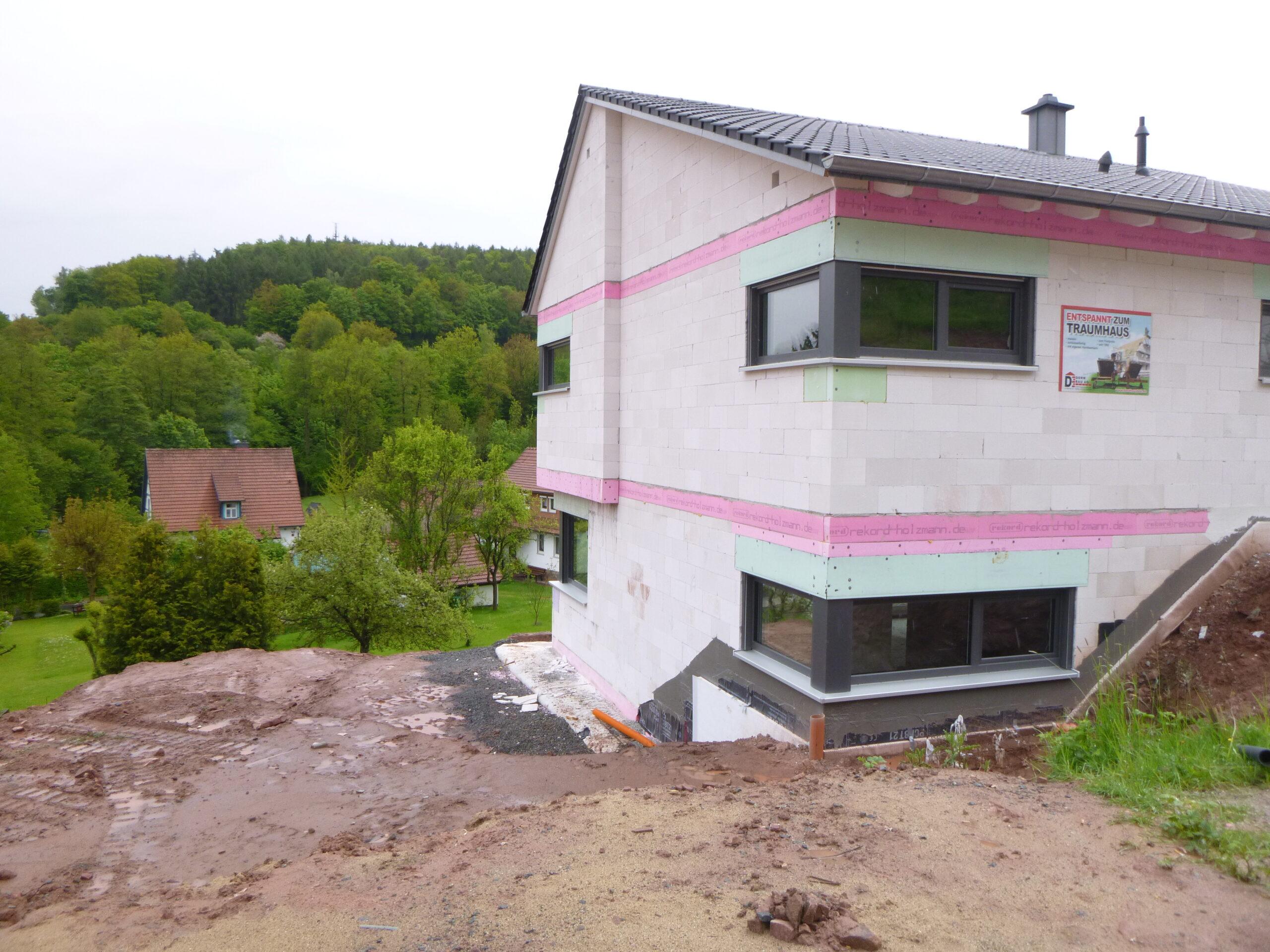 Rohbau - Quellenweg 41 - Aschach (1)