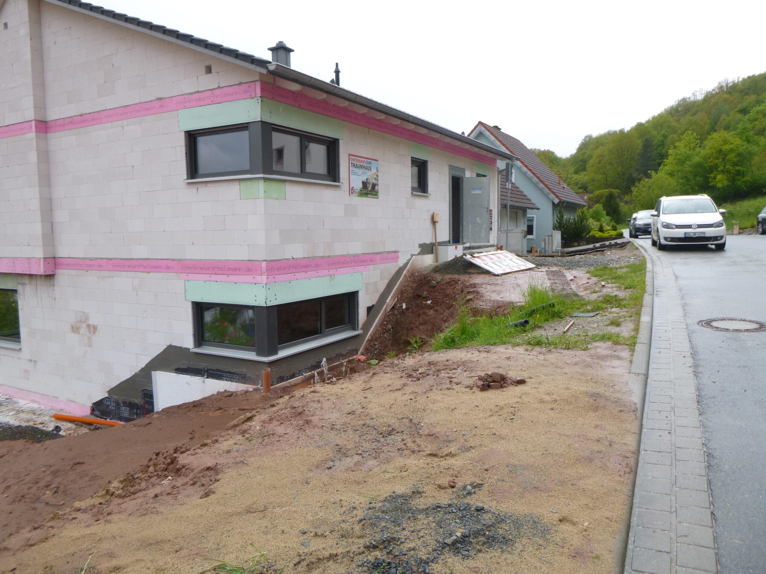 Rohbau - Quellenweg 41 - Aschach (2)