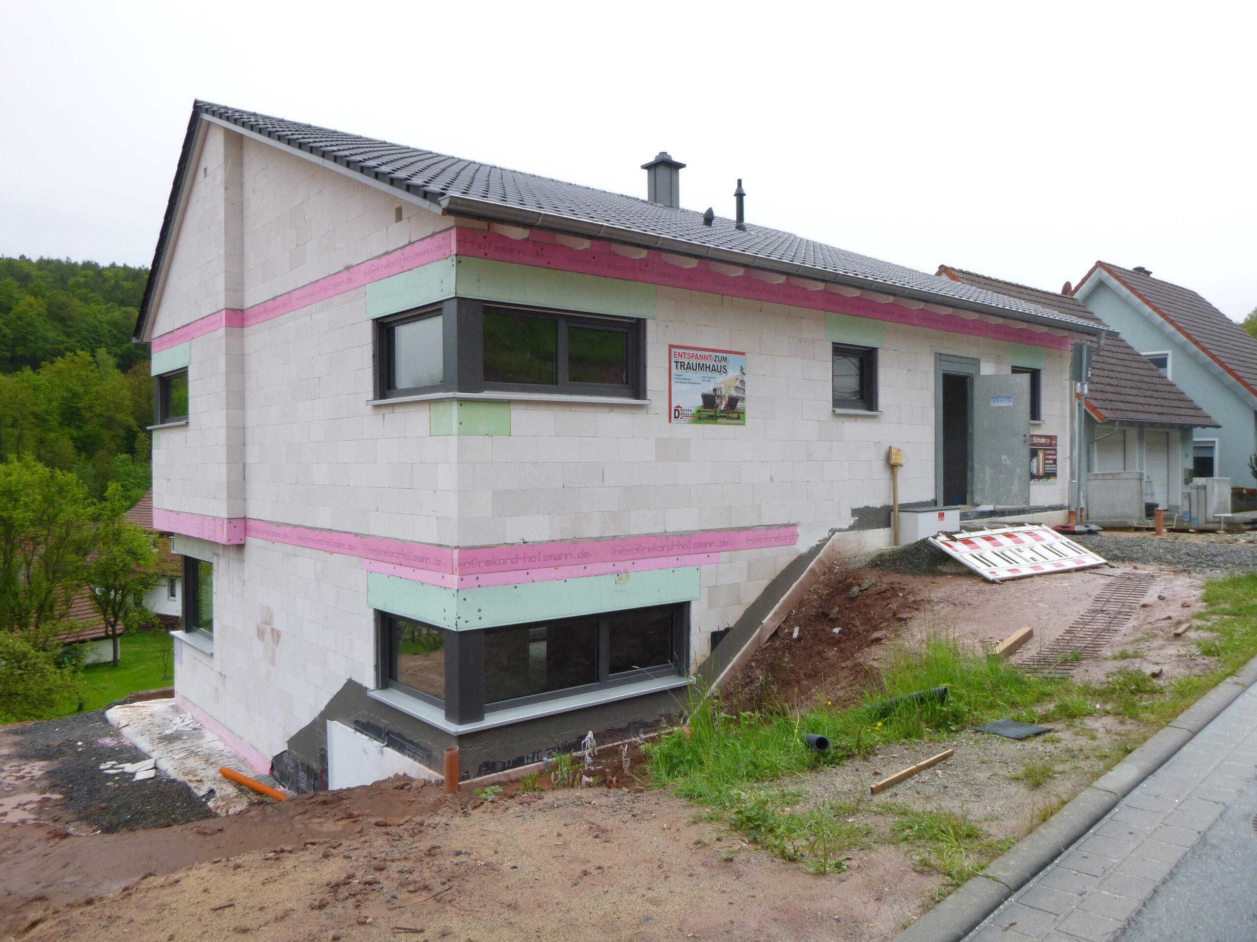 Rohbau - Quellenweg 41 - Aschach (5)