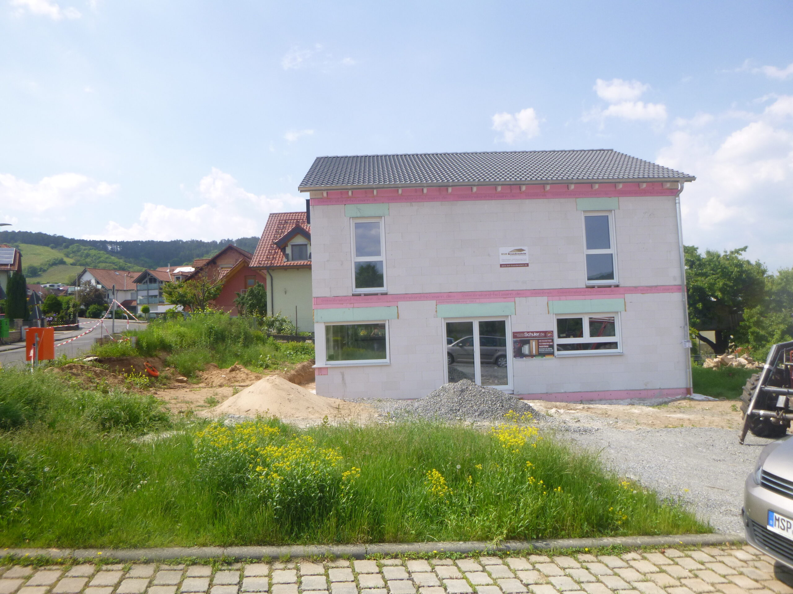 Rohbau - Graf-Rieneck-Strasse 20 - Erlabrunn (4)