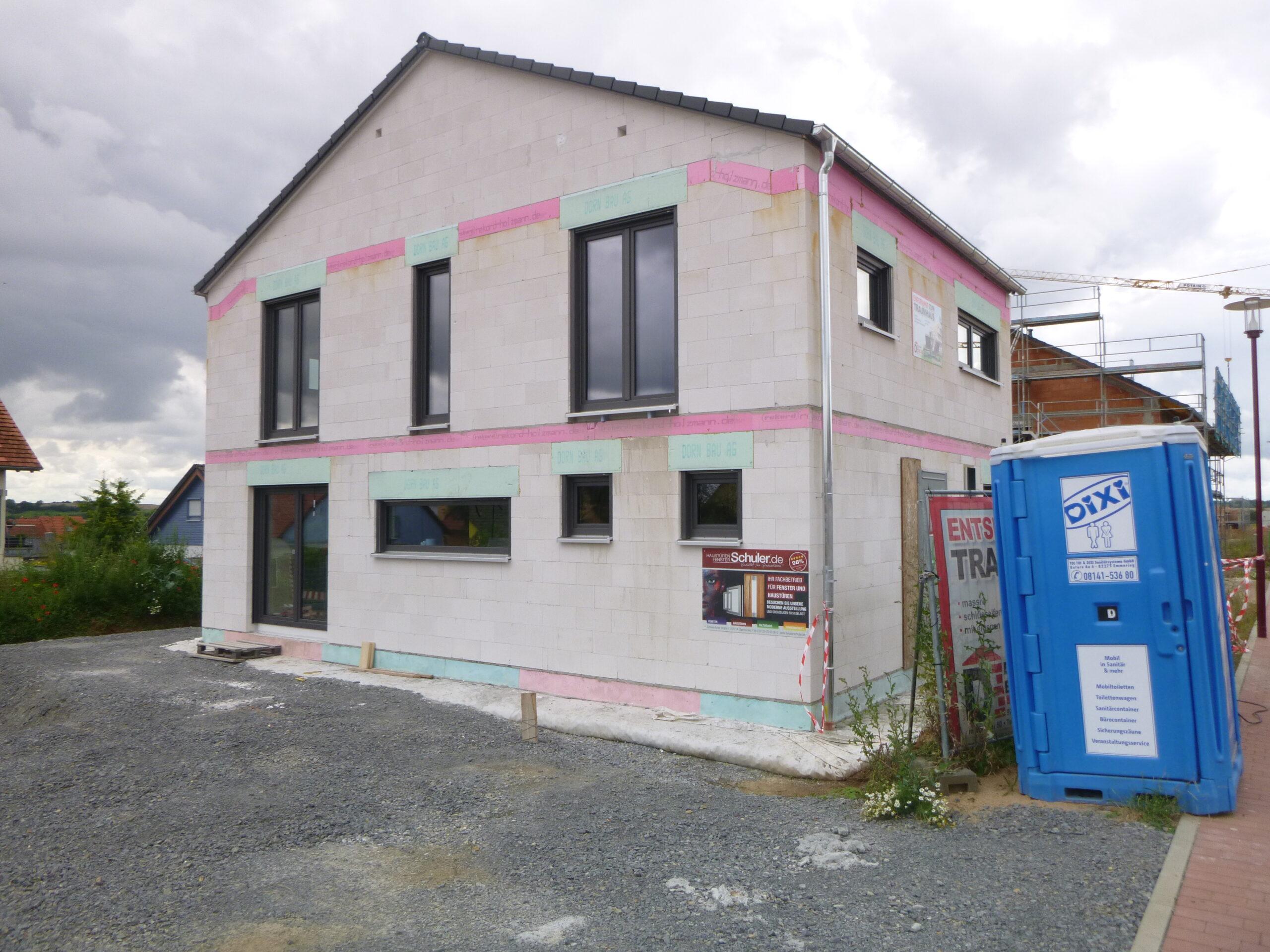 Rohbau - Holunderweg 5 - Kuernach (7)