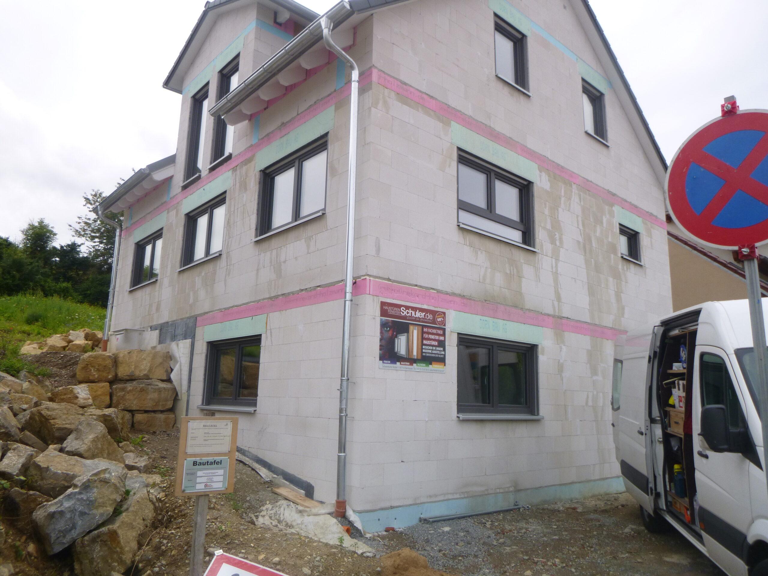 Rohbau - Kolpingstr. 32 - Stetten (1)