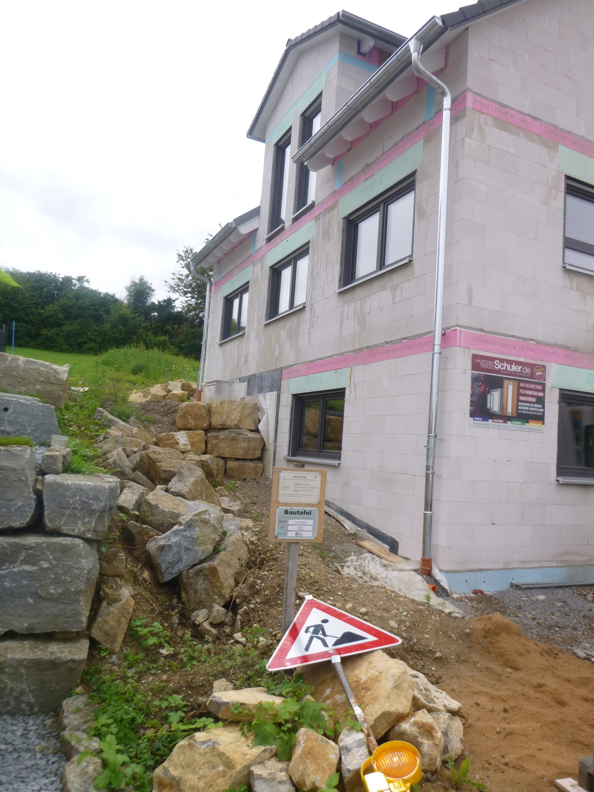 Rohbau - Kolpingstr. 32 - Stetten (2)