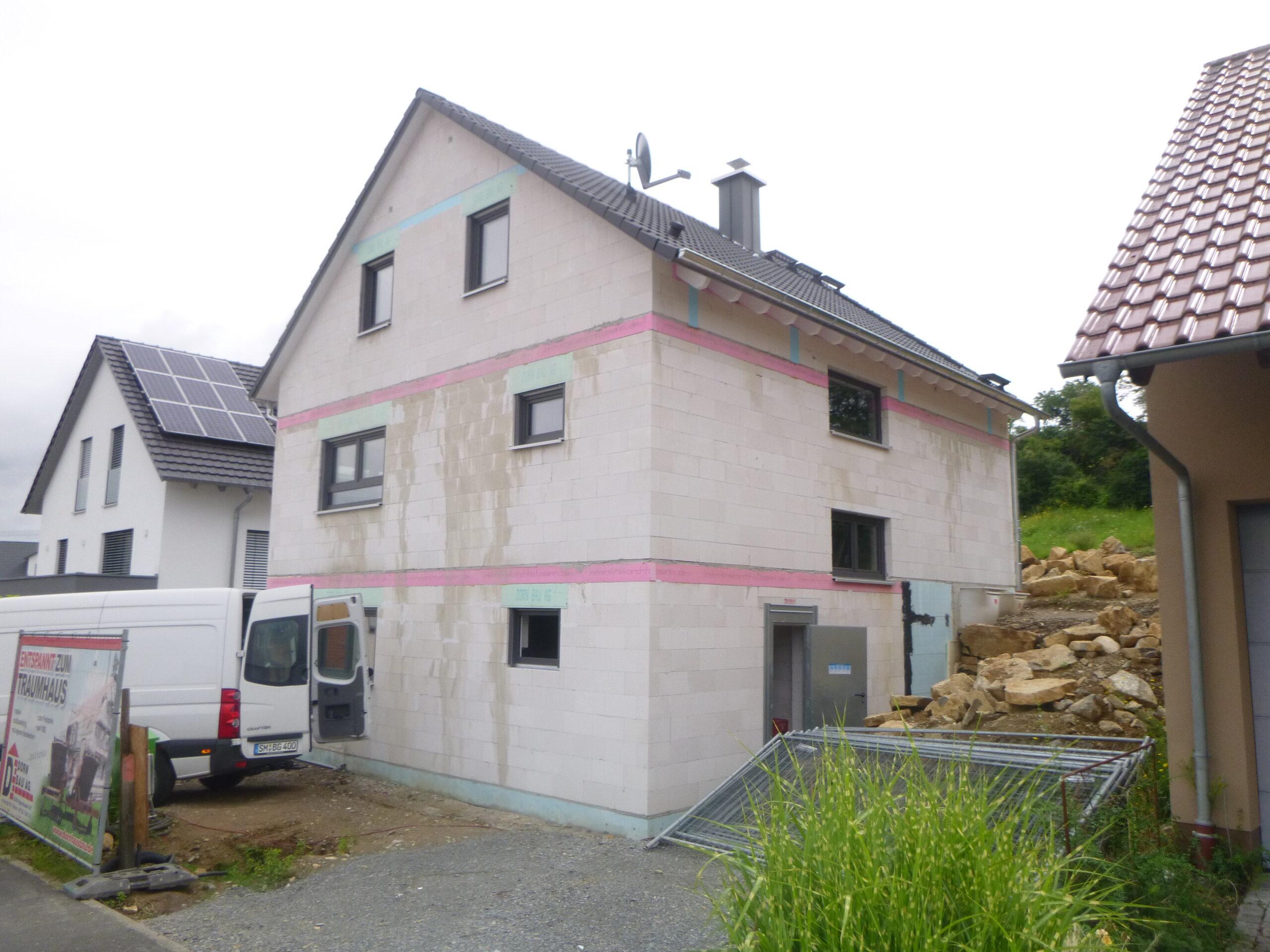 Rohbau - Kolpingstr. 32 - Stetten (3)