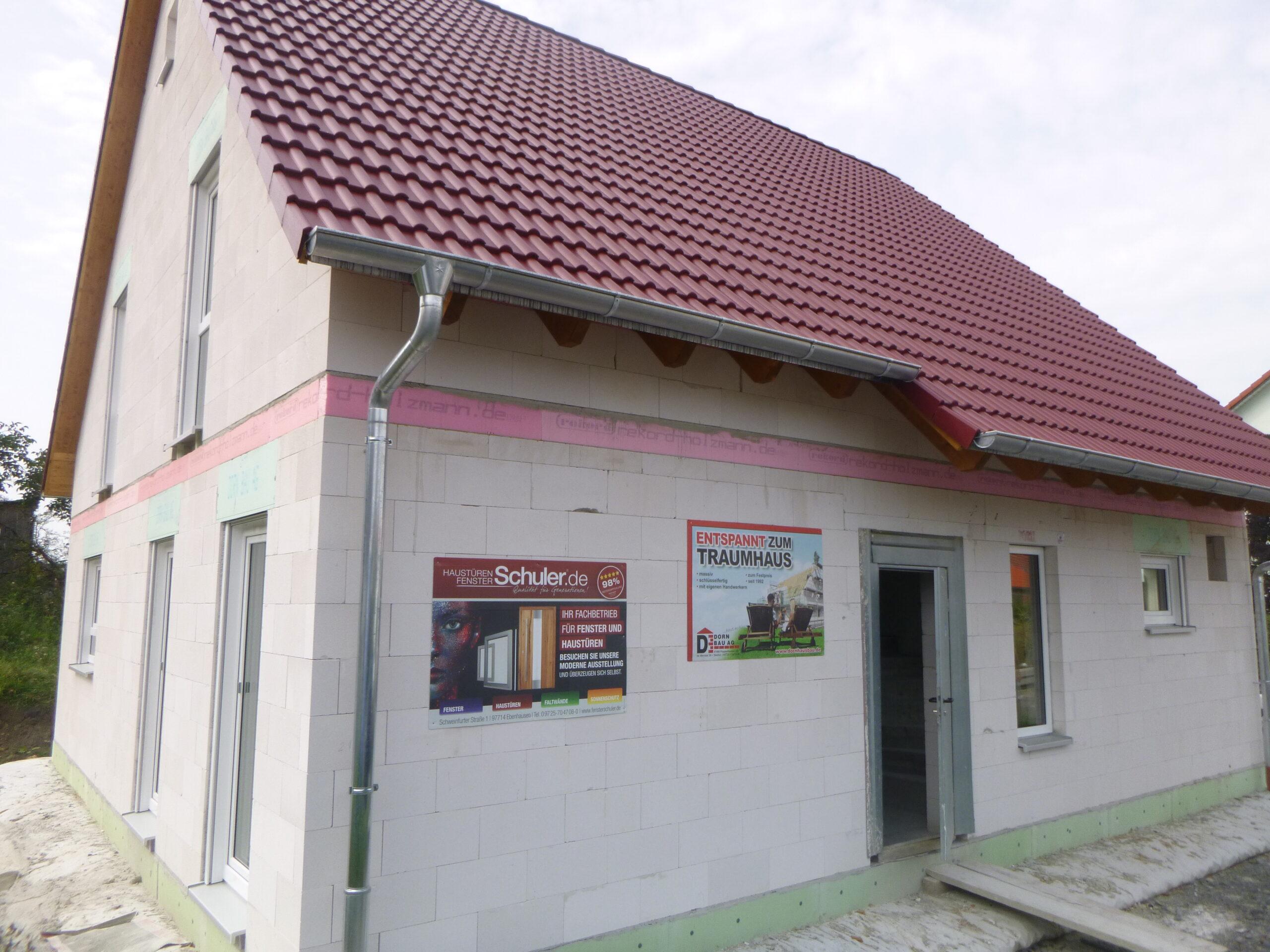 Rohbau - Hofaecker 10 - Oberschwarzach (1)