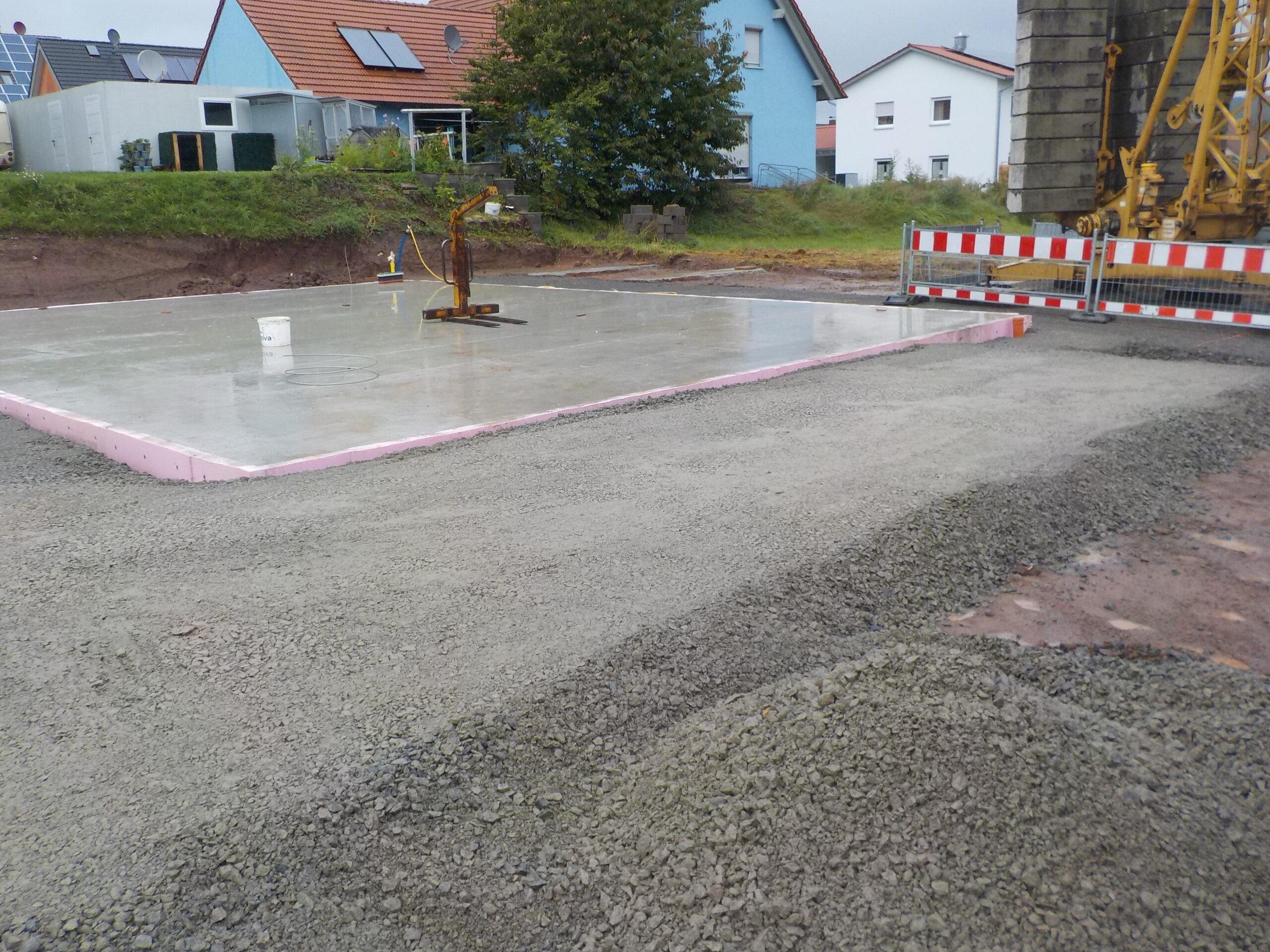 Bodenplatte - Am Breiten Rain 33 - Untersteinbach (6)